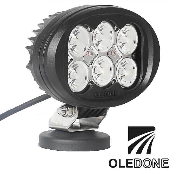 LED ARBETSBELYSNING OLEDONE 60W OVAL CREE