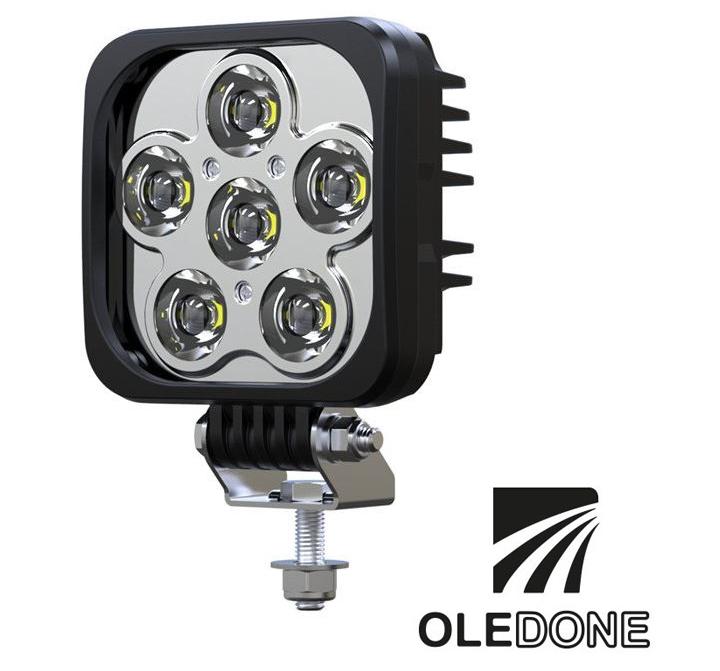 LED ARBETSBELYSNING OLEDONE 60W OSRAM KVADRAT